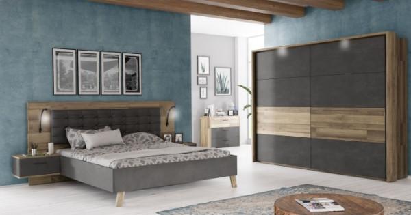 Schlafzimmer Ricciano mit Kommode