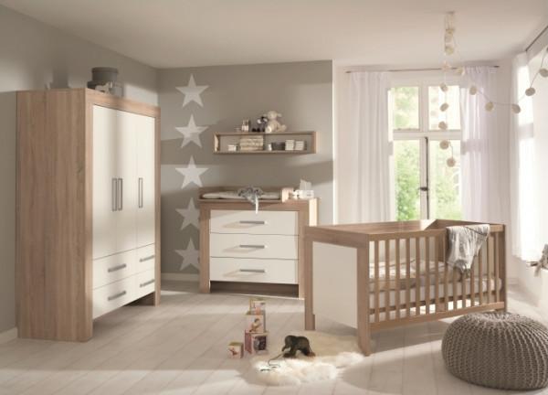 Babyzimmer Matilde 3tlg. von Wellemöbel