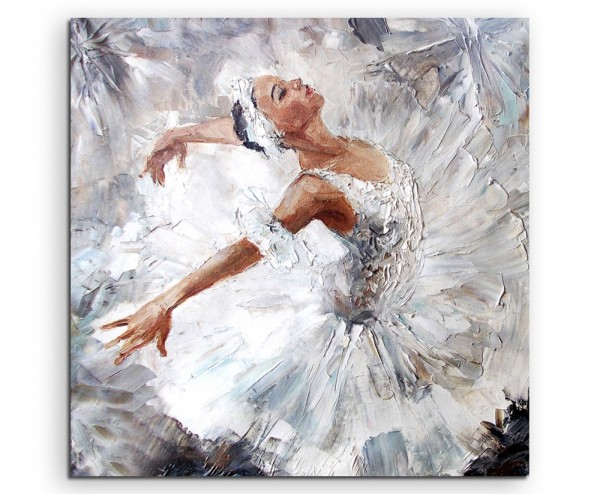 Leinwanddruck Ölgemälde – Ballerina