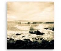 Landschaftsfotografie – Noosa Küste, Australien auf Leinwand