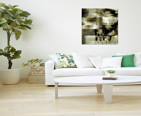 80x80cm Farben abstrakt dunkel Hintergrund