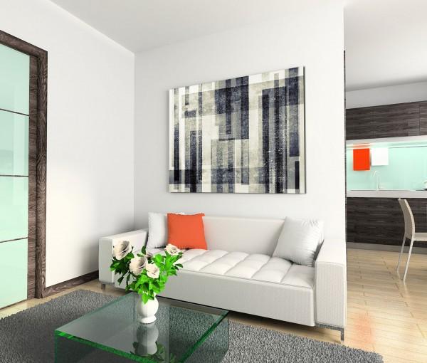 120x80cm Wandbild Hintergrund grunge schwarz grau weiß