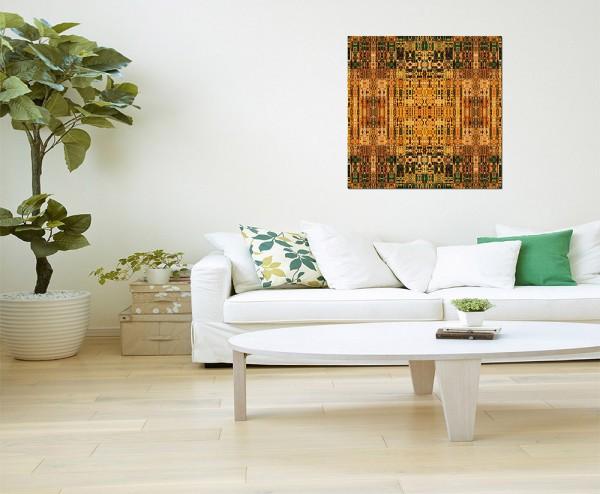 80x80cm Muster Ornament Kunst