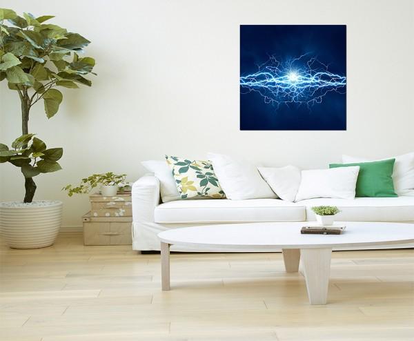 80x80cm Blitze Lichteffekte