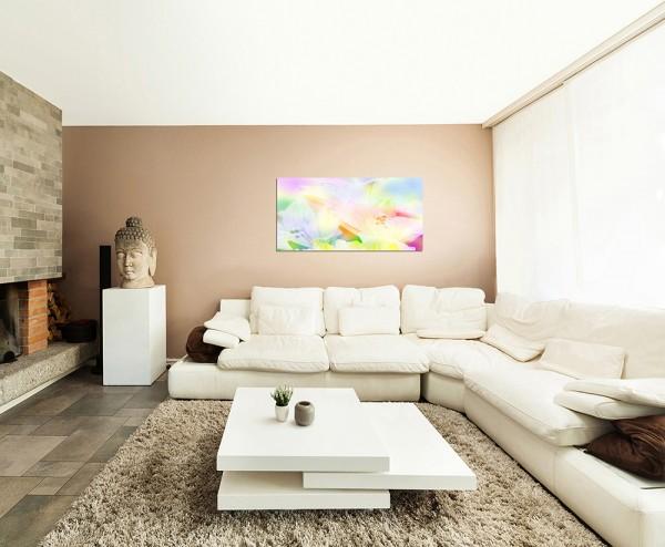 120x80cm Blüten Hintergrund hell abstrakt