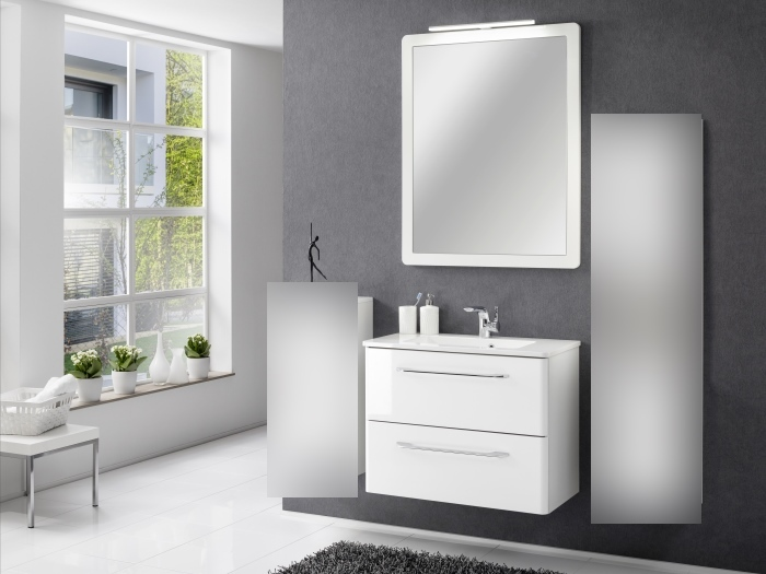 badm bel set beta wei 3 teilig m bel. Black Bedroom Furniture Sets. Home Design Ideas