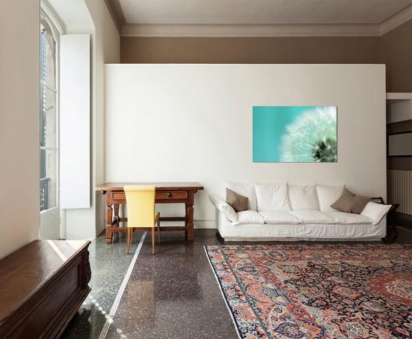 120x80cm Pusteblume Nahaufnahme abstrakt