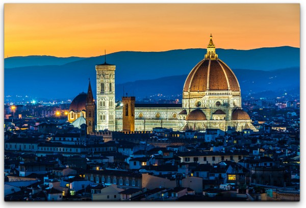 Santa Maria in Italien Wandbild in verschiedenen Größen