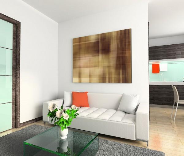 120x80cm Wandbild Hintergrund abstrakt braun beige