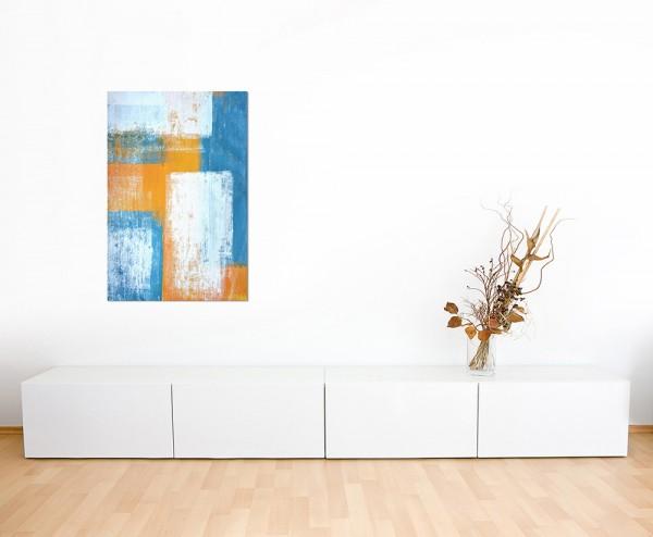 120x80cm Kunst Malerei Farben abstrakt