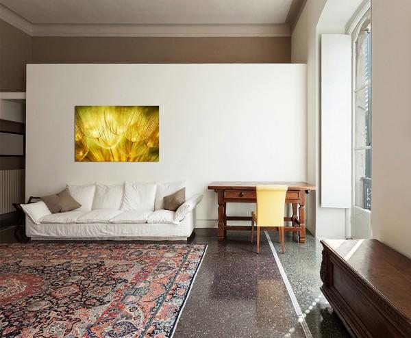 120x80cm Pusteblumen Natur Frühling
