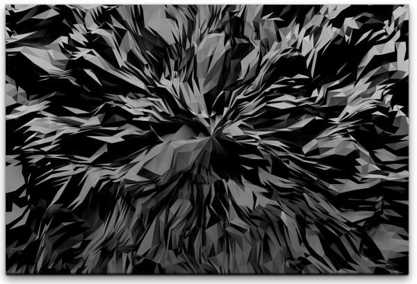 3D Abstrakter Hintergrund Wandbild in verschiedenen Größen