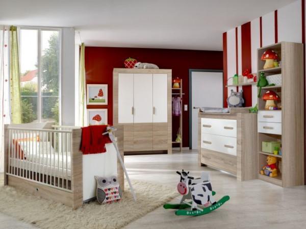 Babyzimmer Emily Weiß 8-teilig