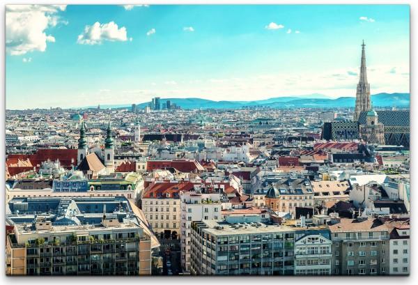 Panorama blick Österreich Wandbild in verschiedenen Größen