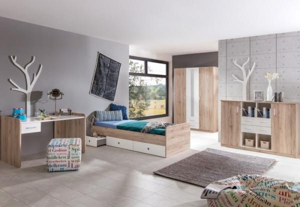 jugendzimmer lenny 4tlg m bel. Black Bedroom Furniture Sets. Home Design Ideas