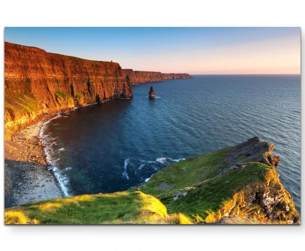 Cliffs of Moher - Sonnenuntergangsstimmung - Leinwandbild
