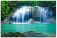 Wasserfall in Thailand Wandbild in verschiedenen Größen