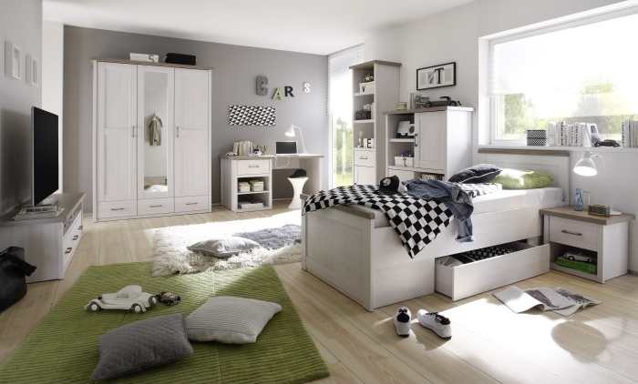 jugendzimmer komplett set f r m dchen jungen m bel. Black Bedroom Furniture Sets. Home Design Ideas