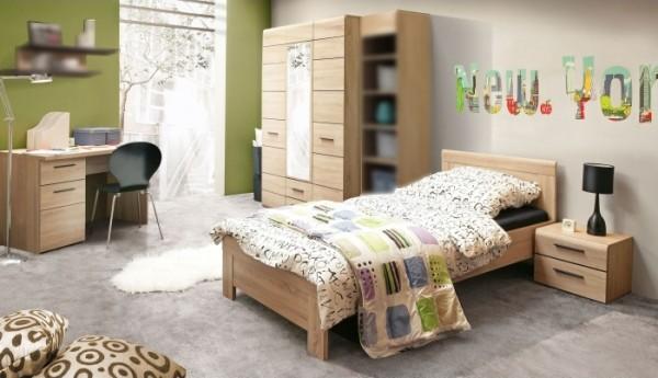 Jugendzimmer Combino 4tlg. mit 90er Bett