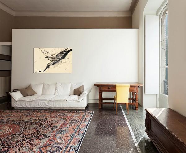 120x80cm Malerei abstrakt Papier