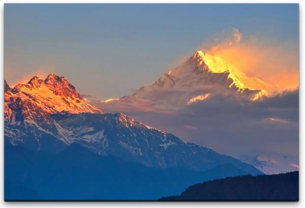 Himalaya Gebirge Wandbild in verschiedenen Größen
