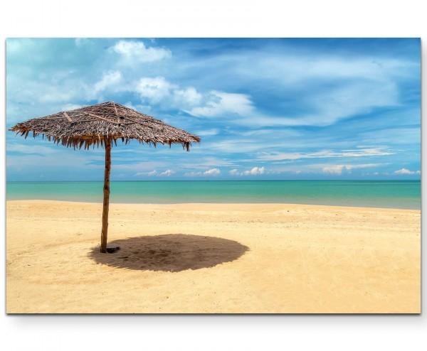 Fotografie – Strand in Thailand - Leinwandbild