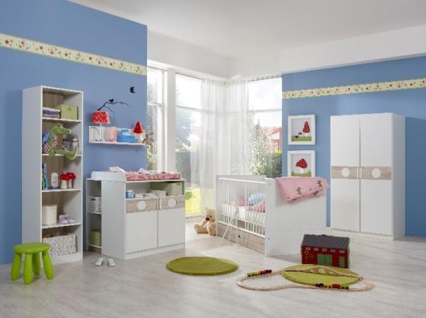 Babyzimmer Kimba 3-teilig mit 2trg. Schrank