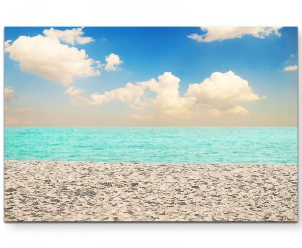 Blaues Meer – Fotografie - Leinwandbild