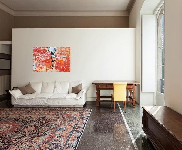 120x80cm Farbe abstrakt