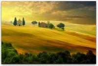 Landschaft in der Toscana Wandbild in verschiedenen Größen