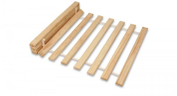 Rollrost für Betten 90 x 200 cm Liegefläche 14 Latten aus Massivholz ++++ möbel-direkt+++ schnell und günstig