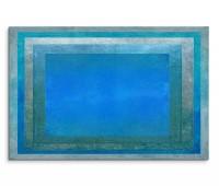 120x80cm Wandbild Hintergrund abstrakt blau grau grün