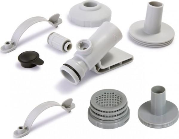 INTEX Anschluss-Set Ø 32 mm mit Adapter für Wasserbelebungsdüse 12353