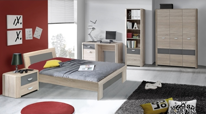jugendzimmer yoop 5tlg m bel. Black Bedroom Furniture Sets. Home Design Ideas