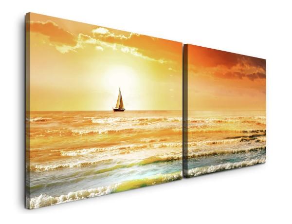 Meer mit Wellen Wandbild in verschiedenen Größen