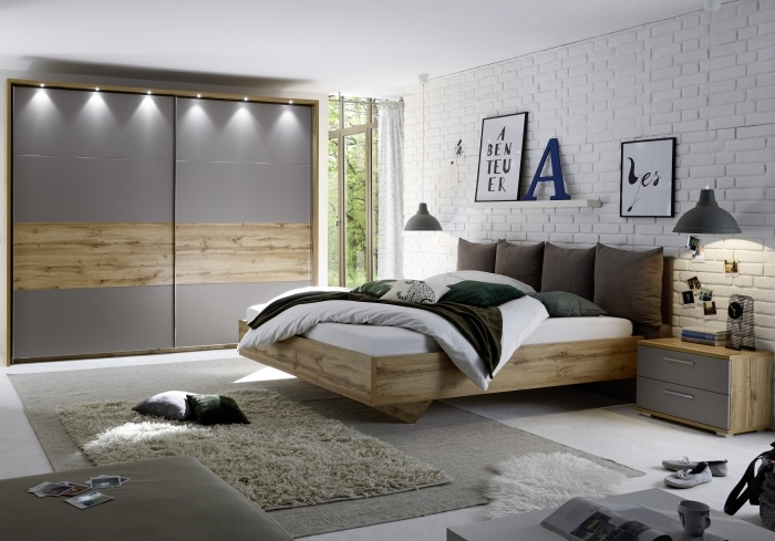 schlafzimmer delta m bel. Black Bedroom Furniture Sets. Home Design Ideas