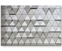 Abstraktes Bild – architektonische Wand - Leinwandbild