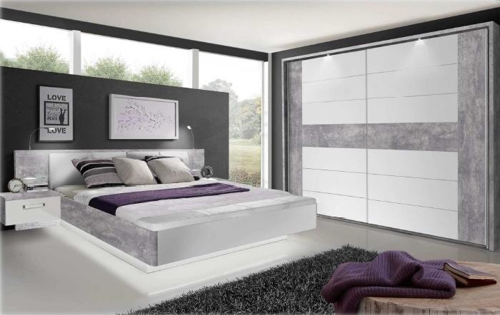 Schlafzimmer Rondino Beton