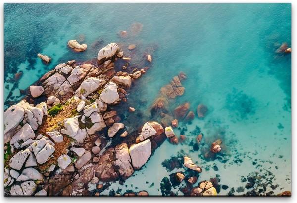 Felsen am Meer Wandbild in verschiedenen Größen