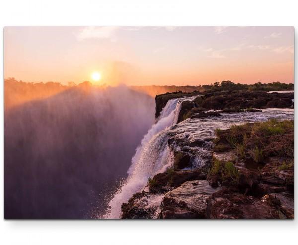 """Devils Pool"" - Wasserfall - Leinwandbild"