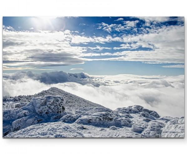 Naturaufnahme – Himmelswolken in New Hampshire - Leinwandbild