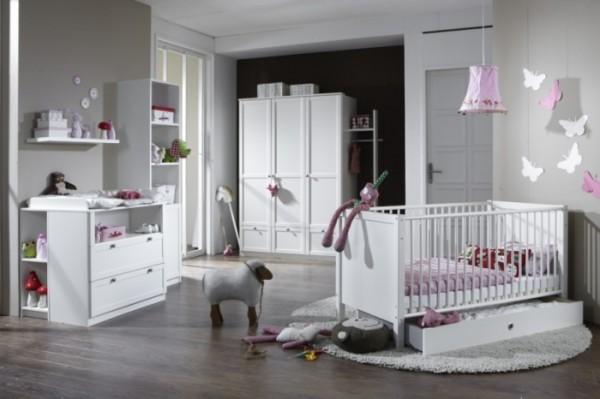 Babyzimmer Filou 3-teilig Weiß