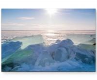 Baikalsee im Winter - Leinwandbild