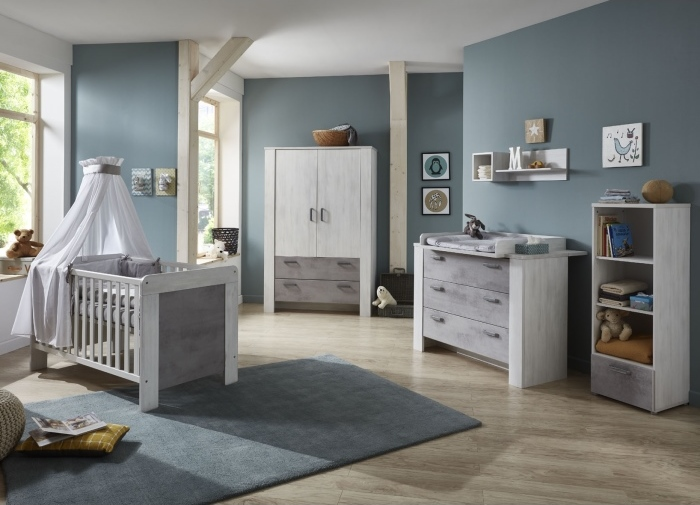 babyzimmer lola 5 teilig m bel. Black Bedroom Furniture Sets. Home Design Ideas