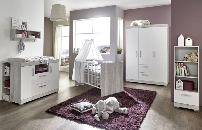 babyzimmer fridolin 6 teilig m bel. Black Bedroom Furniture Sets. Home Design Ideas
