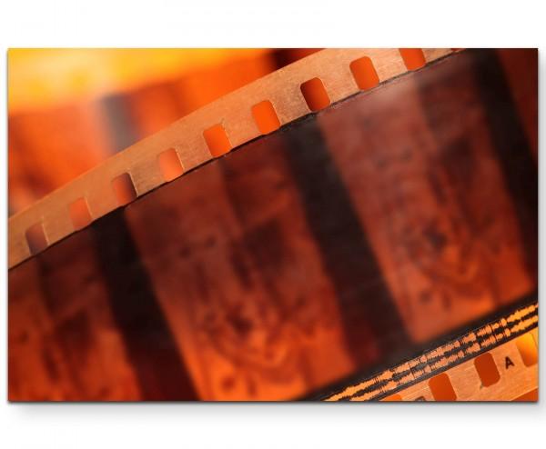 Retro – Filmstreifen - Leinwandbild