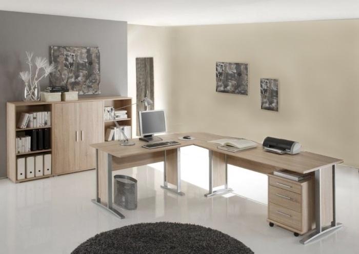 b ro office smart sonoma 5 teilig m bel. Black Bedroom Furniture Sets. Home Design Ideas