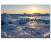 Baikalsee gefroren - Leinwandbild