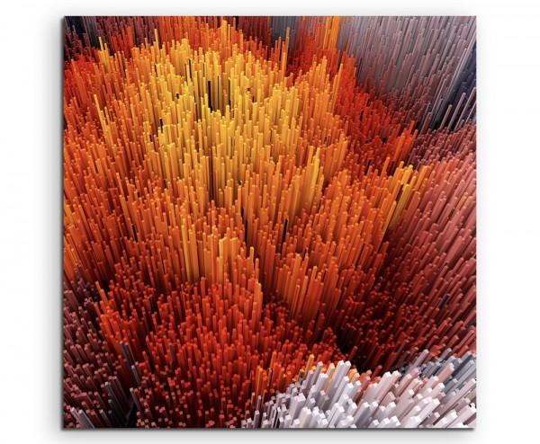abstrakt modern chic chic dekorativ schön deko schön deko e Illustration von vielen Stäben auf Leinw