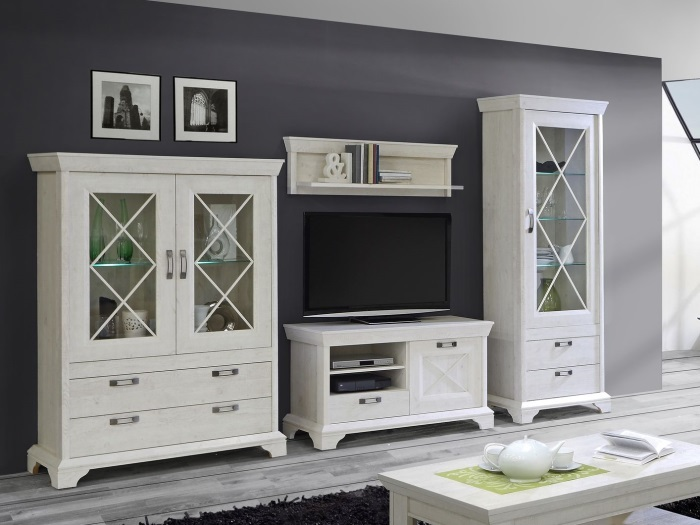wohnwand kashmir m bel. Black Bedroom Furniture Sets. Home Design Ideas